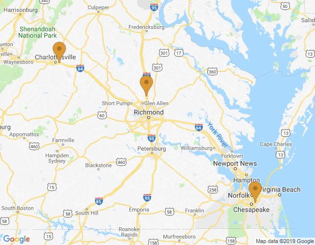 Map of Richmond WorkLab